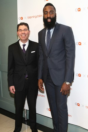 GQ James Harden Bloomingdale