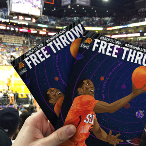 Elliot Gerard Phoenix Suns Free Throw Magazine