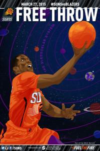 Elliot Gerard Phoenix Suns Eric Gordon