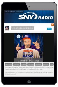 Elliot Gerard Knicks Blog Radio KnicksBlog Radio