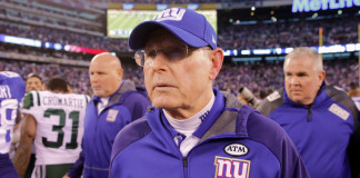 Tom Coughlin Fire New York Giants
