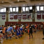 Kristaps Porzingis New York Knicks Youth Clinic
