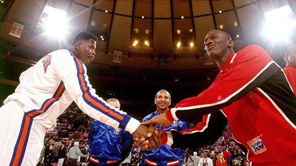 Michael Jordan Madison Square Garden MSG