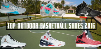 Top Outdoor Basketball Shoes 2016 Summer