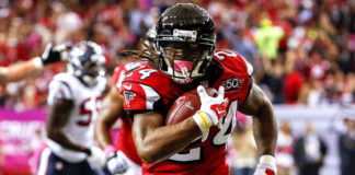 Atlanta Falcons Devonta Freeman waiver to enemy