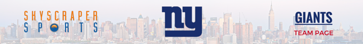 New York Giants Page Banner