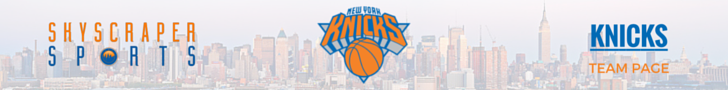New York Knicks Page Banner