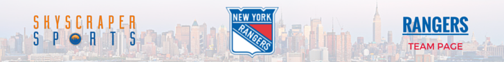 New York Rangers Page Banner