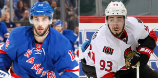 New York Rangers Derick Brassard Trade