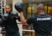 Carmelo Anthony Boxing