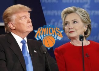 Donald Trump Hillary Clinton New York Knicks